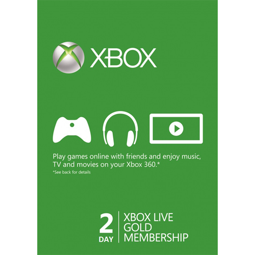 XBOX LIVE GOLD 2 Day Trial